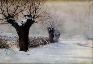 Hans Wertinger - Smutné Vŕby V Zime