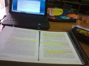 Mesa cuando estudio