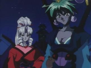 Tamasaburo (izq) y Baiko (der)