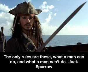 The only rules are...